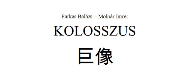 Kolosszus